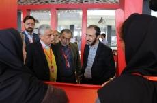 بازدید معاون فضای مجازی از سی و هفتمین جشنواره بین المللی فجر