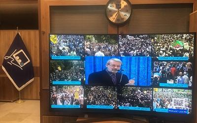 پوشش مستقیم حماسه بزرگ راهپیمایی روز جهانی قدس در شبکه شی ران